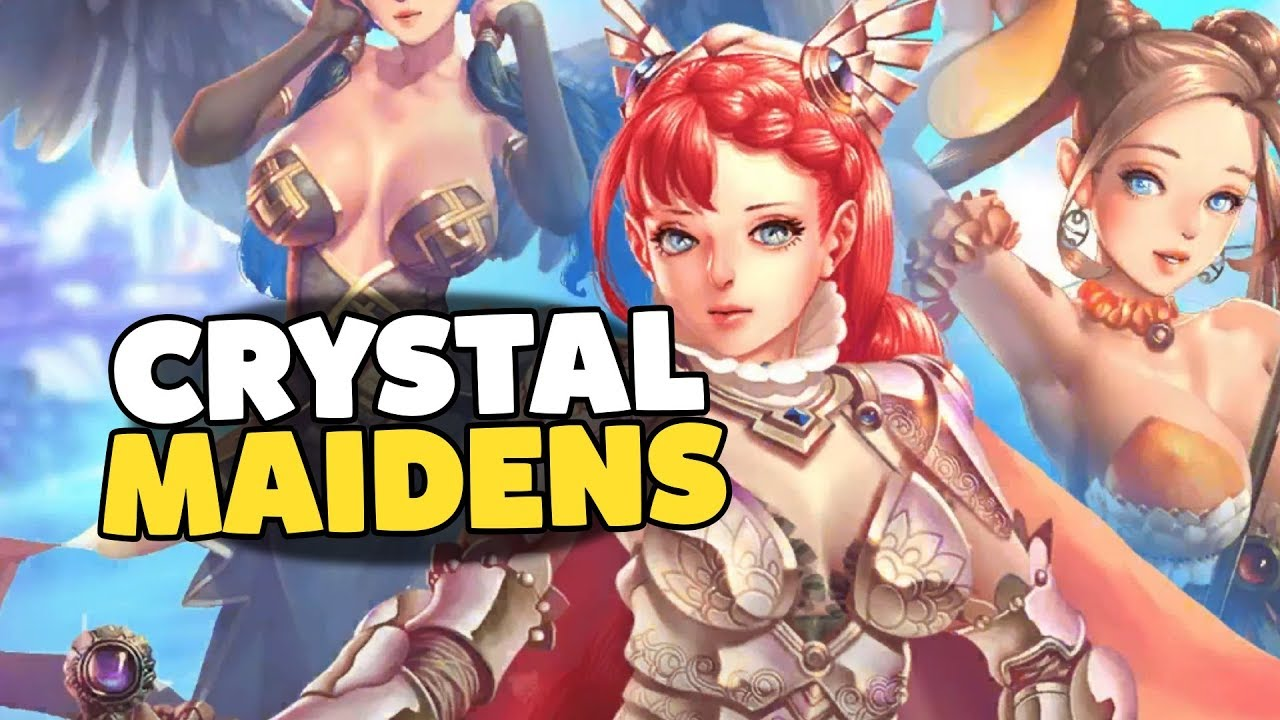 Crystal maidens